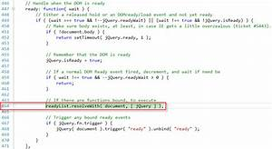 Javascript jquery exception with documentready object doesn39t support this property or for Javascript edit documents