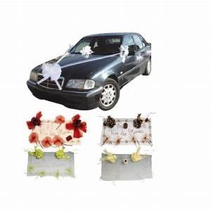Deco Voiture Mariage Pas Cher : kit d co voiture pas cher pour d coration voiture mariage badaboum ~ Teatrodelosmanantiales.com Idées de Décoration