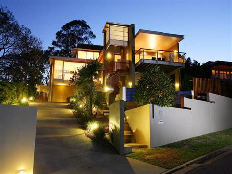 modern outdoor lighting ideas 30 contemporary home exterior design ideas