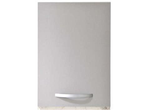 porte de cuisine seule meuble haut 40 cm 1 porte spoon color coloris gris vente