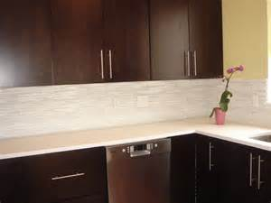 glass tile kitchen backsplash the ceramic subway tile backsplash homearttile