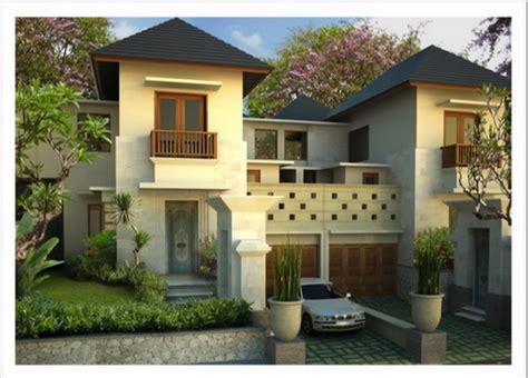 contoh gambar desain rumah villa modern minimalis