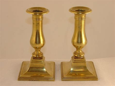 candlestick ls for sale square base brass candlesticks for sale antiques com