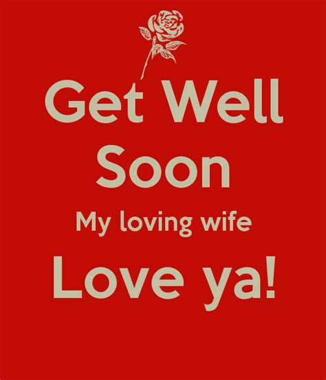 Get Well Soon Love Quotes