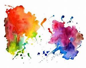 Tache De Couleur Peinture Fond Blanc : encres colorants et encres pigment es quelles diff rences selecteo ~ Melissatoandfro.com Idées de Décoration