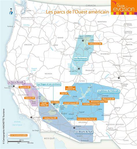 Carte Nord Ouest à Imprimer by Infos Sur 187 Ouest Americain Carte Touristique 187 Vacances