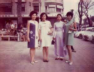 Vietnam 1960s Fashion