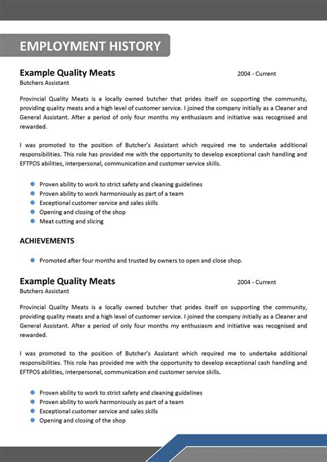 Electrician Resume Template Australia by We Can Help With Professional Resume Writing Resume Templates Selection Criteria Writing
