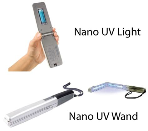 uv light wand nano uv disinfection light scanner and wand cleansafe labs
