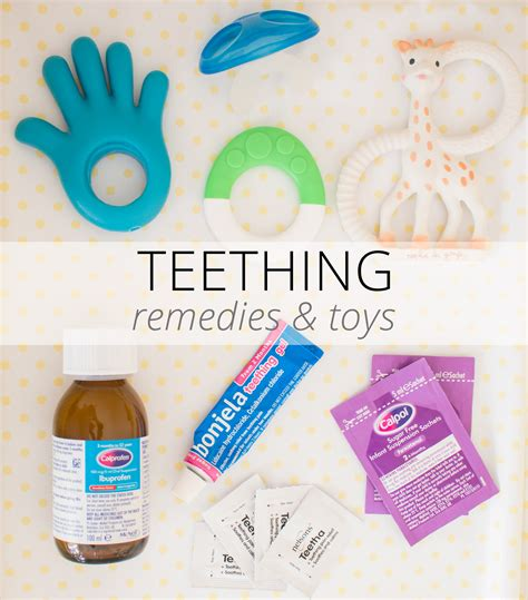 How To Help A Teething Baby Toys Remedies