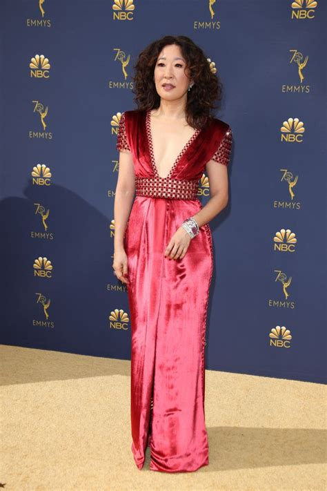 sandra oh health sandra oh brought her parents to the emmys and people