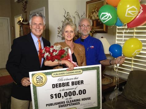 publishers clearing house winner today pch delivers luck of the to california winner pch