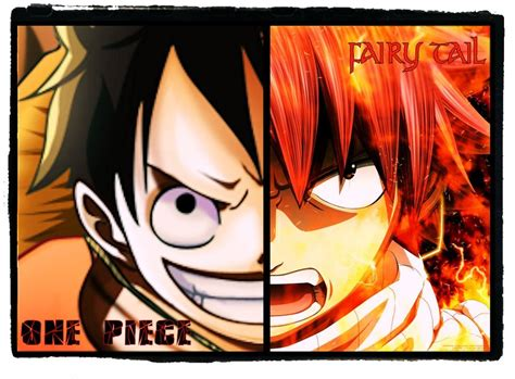 One Piece X Fairy Tail By Mugiwara-king On Deviantart