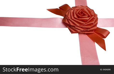gift packaging  ribbons  rose bow  stock