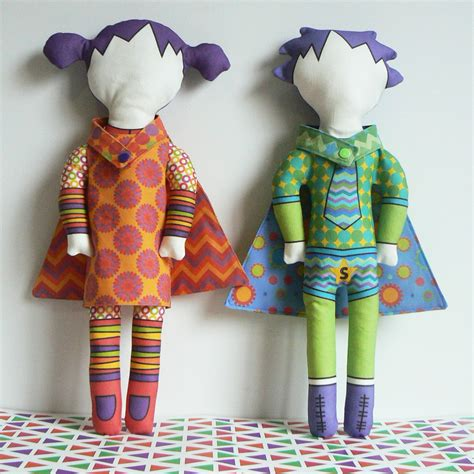 curlypops introducing poppy  harry cloth doll kits
