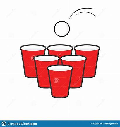 Pong Beer Clipart Birra Insieme Della Isolated