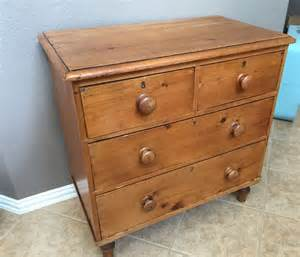 Vintage Birdseye Maple Dresser by Antique Vtg Pine Dresser Wooden Chest Of Drawers Old