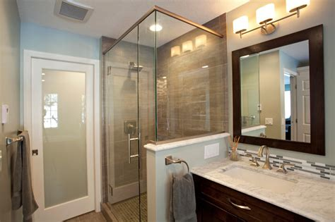 North Oaks Modern Spa Inspired Bathroom