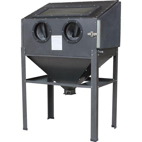 Blast Cabinets by Shop Tuff Abrasive Blast Cabinet 40 Lb Capacity Model