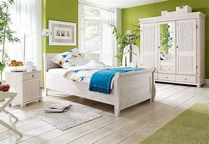 Bett Weiß 160x200 Holz : bett 160x200 kiefer massiv wei ~ Markanthonyermac.com Haus und Dekorationen