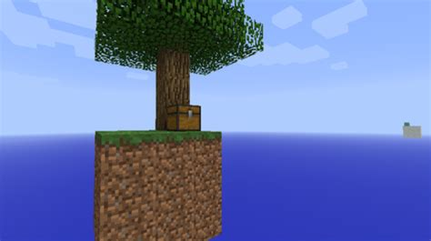skyblock map  floating island  survive