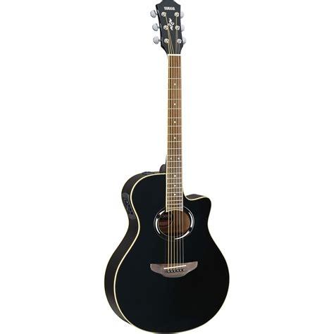 bridge bass 6 strings black yamaha apx500iii bl acoustic guitar