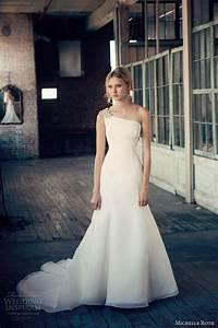 One Shoulder Strap Wedding Dress Inspiration 2046808