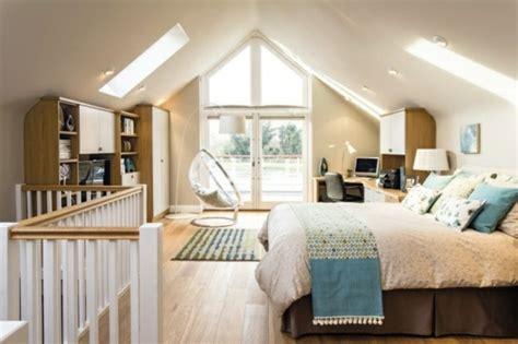 dachboden schlafzimmer ideen