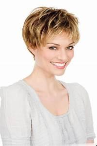 Coupe De Cheveux Femme Visage Rond Cheveux Epais : tendances coiffuremodel coiffure courte femme les plus ~ Nature-et-papiers.com Idées de Décoration
