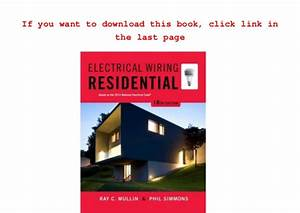 Electrical Wiring Residential Downloadl
