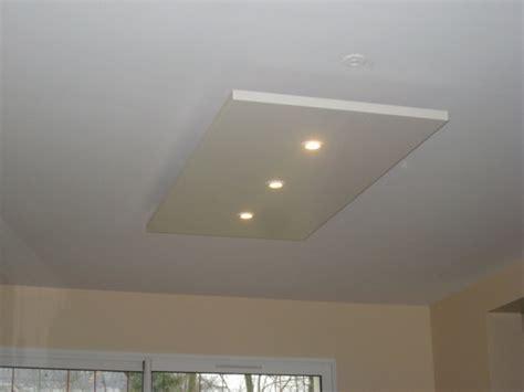 eclairage faux plafond cuisine eclairage plafond eclairage plafond sur enperdresonlapin