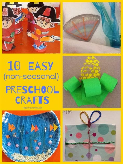 easy activities for preschoolers easy crafts for preschoolers teach me 766