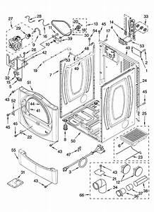 Cabinet Parts Diagram  U0026 Parts List For Model 110c87572601