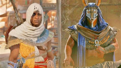 Assassinu0026#39;s Creed Origins - Hallucinations Outfits Sandstorms Throwable Oil Barrels and More ...