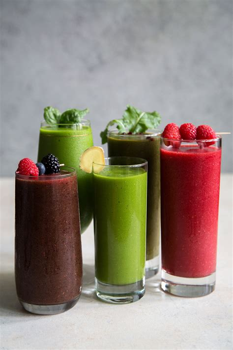 veggie smoothies 5 fruit and veggie smoothies the little epicurean