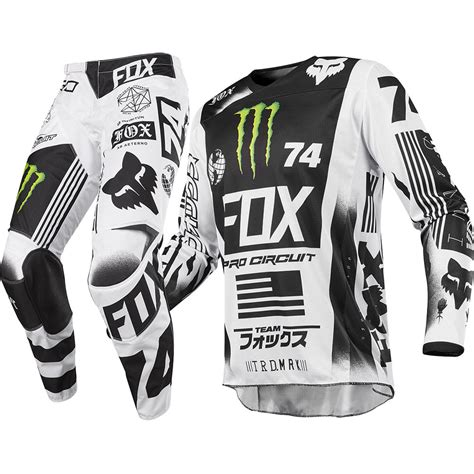 monster energy motocross gear new fox racing 2017 mx 180 pro circuit le monster energy