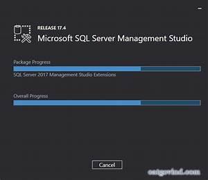 How To Install Microsoft Sql Server Management Studio 2017