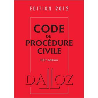 code de procedure civile edition  relie collectif