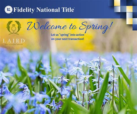 Welcome to Spring! – The Laird Law Firm