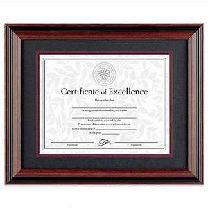 85 inch x 11 inch recognition document frame in classic With 8 5 x 11 document frame