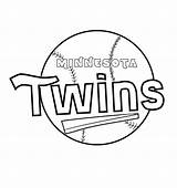 Twins Minnesota Coloring Pages Printable Schedule Baseball Zany Getcolorings Again Bar Looking Case Don sketch template