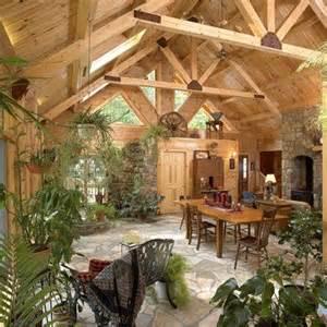 log home interiors eagles nest log homes - Show Homes Interiors