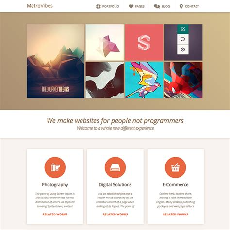 Metrovibes Metro Wordpress Theme Wpexplorer