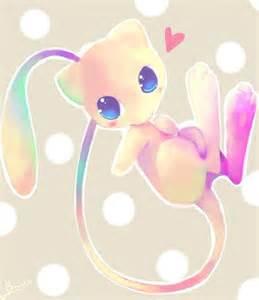 Cute Legendary Pokemon Mew