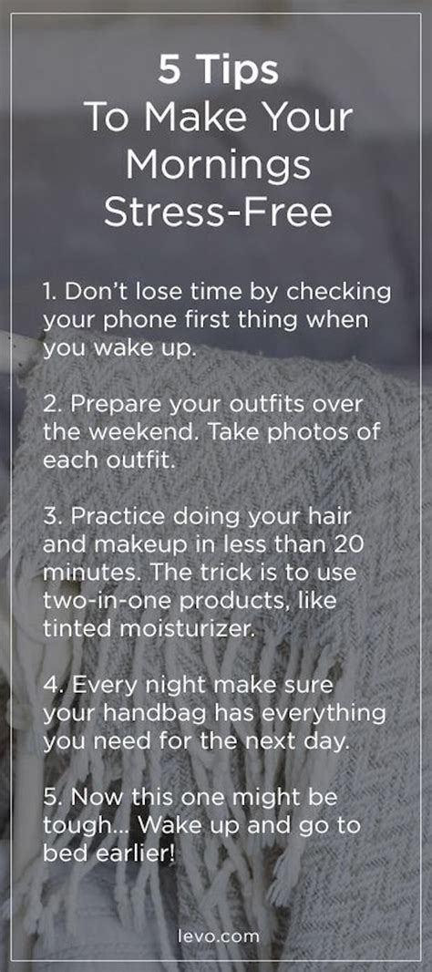 tips    stress  morning pictures