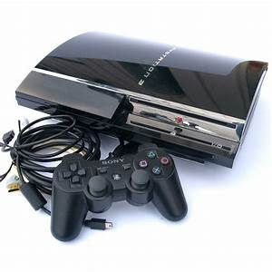 Sony Playstation 3 Ps3 160gb Game Console Bundle