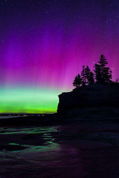 northern lights nova scotia northern lights aurora borealis event in nova scotia