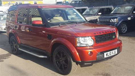 Used 2018 Land Rover Discovery 4 Tdv6 Hse Rimini Red Cream