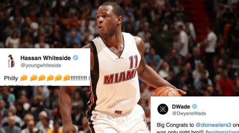 Hassan Whiteside And Dwyane Wade React To Dion Waiters Re