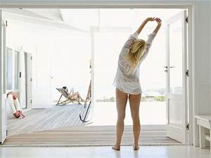 4 most important health benefits of stretching in the With back pain every morning